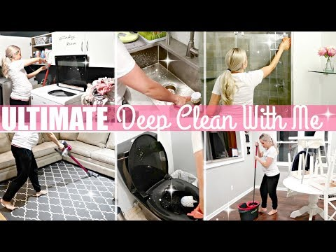 ULTIMATE DEEP CLEAN // DEEP CLEANING MOTIVATION 2018 // BEAUTY AND THE BEASTONS