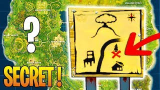 SECRET CARTE IN THE TRESOR OF DUSTY DEpot on Fortnite: Battle Royale!