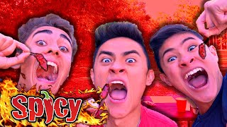 GHOST PEPPER CHALLENGE **INSANE REACTIONS**
