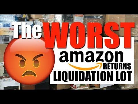 WORST Amazon Customer Returns Liquidation Unboxing | $3166 for $311 Health  & Beauty | MANIFEST LIED