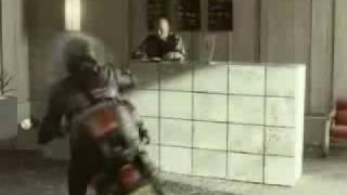 Rexona Tv advert- Stunt City