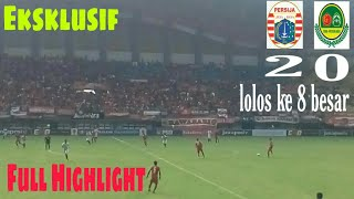 FULL HIGHLIGHT PERSIJA VS PS TIRA PERSIKABO 2-0 LANGSUNG DARI STADION PATRIOT