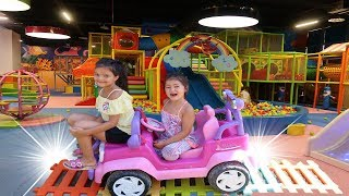 Sihirli Pembe Prenses Arabam! Magic Pink Princess Car