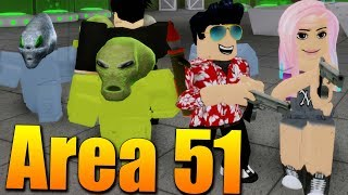 WE HAVE to SAVE the ALIENS from AREA 51 with the MAKKY! 😱👽 Roblox Hotel Stories: Area 51 w/Makousek