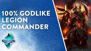 DOTA 2 – 100% GODLIKE Legion Commander Educational part 1/3 [BITucational #1]