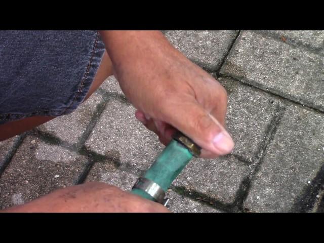 Cách tự sửa ống nước tưới đồ/garden hose dài miên man không tốn bao nhiêu tiền tại nhà ở Mỹ