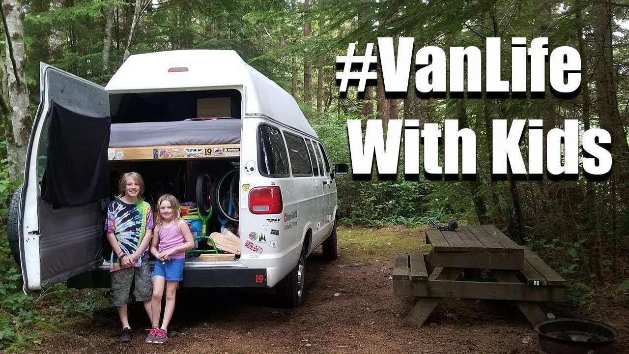 Oregon To Washington #VanLifeWithKids