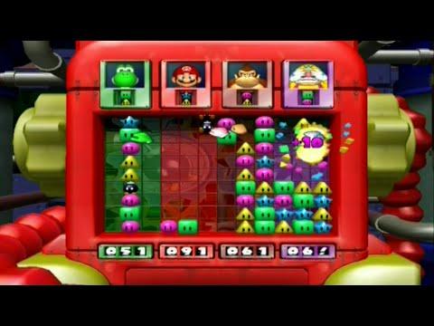 Mario Party 4 - Minigames - 4v4 - Bob-ombs Breakers