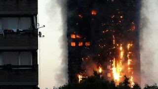 London officials concerned weakened high rise may collapse