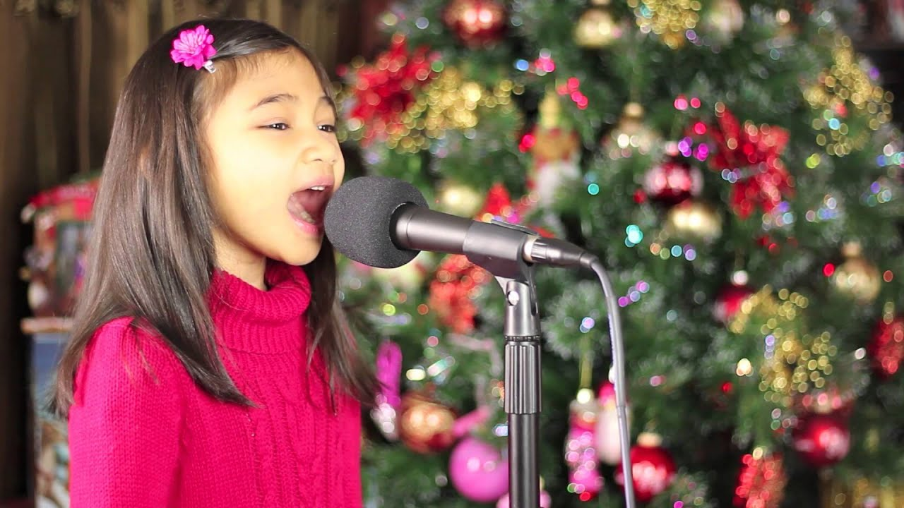 6 Yr Old Singing So This Is Christmas - Angelica Hale ...