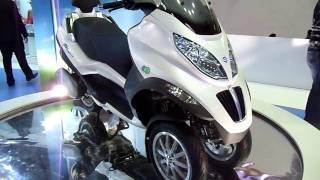 Piaggio Hybrid Scooter at Auto Expo 2012, New Delhi, India