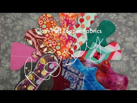 Cloth Pad Topper Fabrics