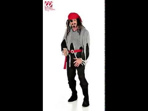 Heren piraten kostuum