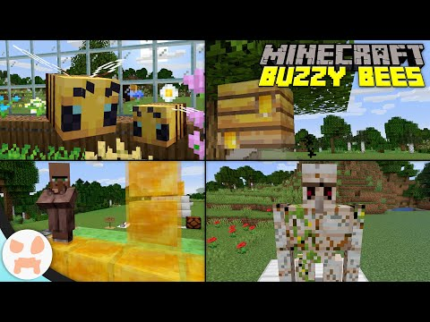 everything-in-minecraft-1.15-buzzy-bees!