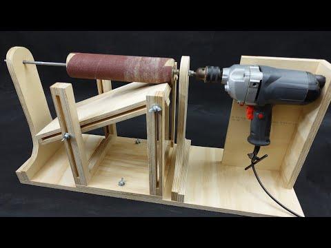 3 in 1 Homemade Drum Sander Machine. Thickness Sander / Wedge Maker / Drum Sander.