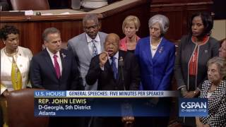 House Democrats stage sit-in on House floor (C-SPAN)