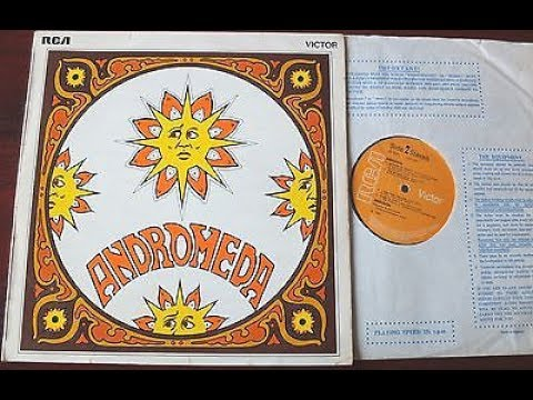 ANDROMEDA (Full Album) 1969 Mega Rare UK Psych LP RCA Victor 8031 £1000 `The Attack` Five Day Rain