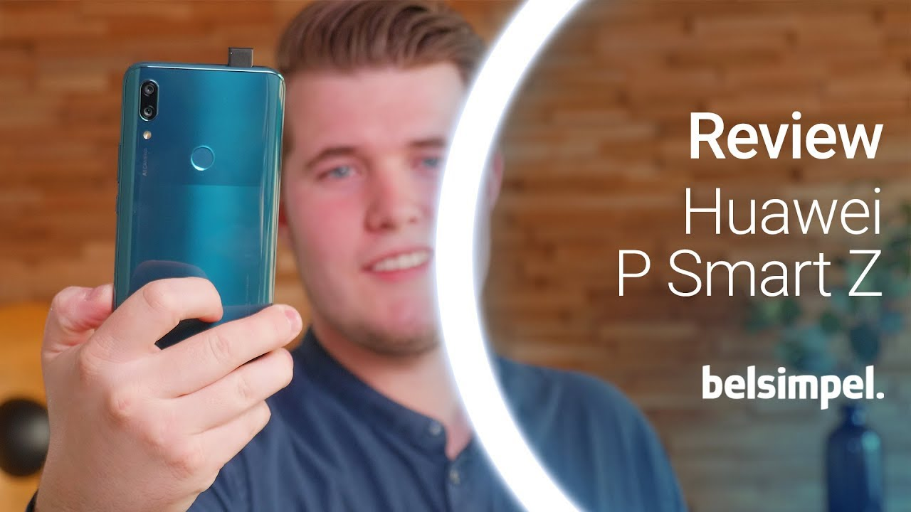 Telefoon met popup camera  Huawei P Smart Z Review