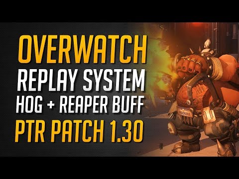 PTR PATCH 1.30 ANALYSE | Roadhog + Reaper + Mercy + Symmetra Buff | Replay Mode ★ Overwatch Deutsch thumbnail