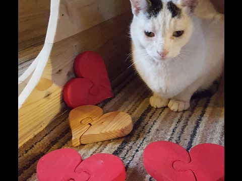 DiY Jigsaw heart - Easy Pallet Projects with Scroll Saw