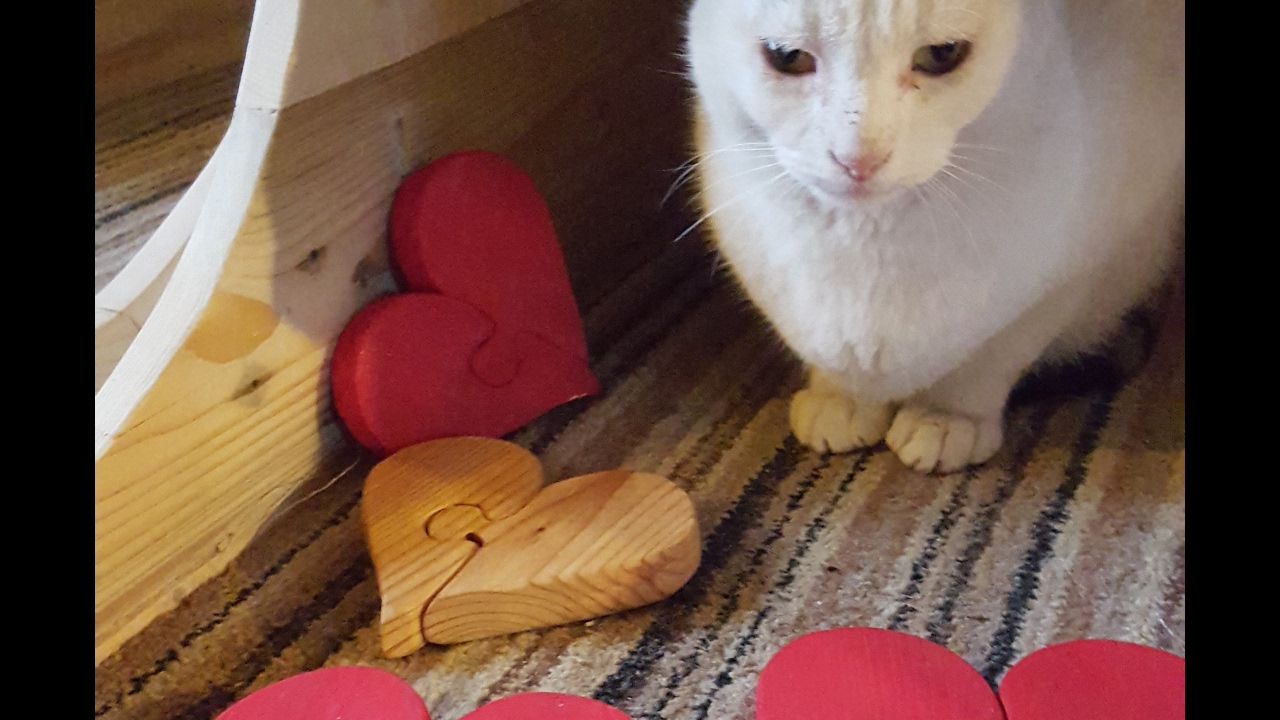 Diy Jigsaw Heart Easy Pallet Projects With Scroll Saw Youtube