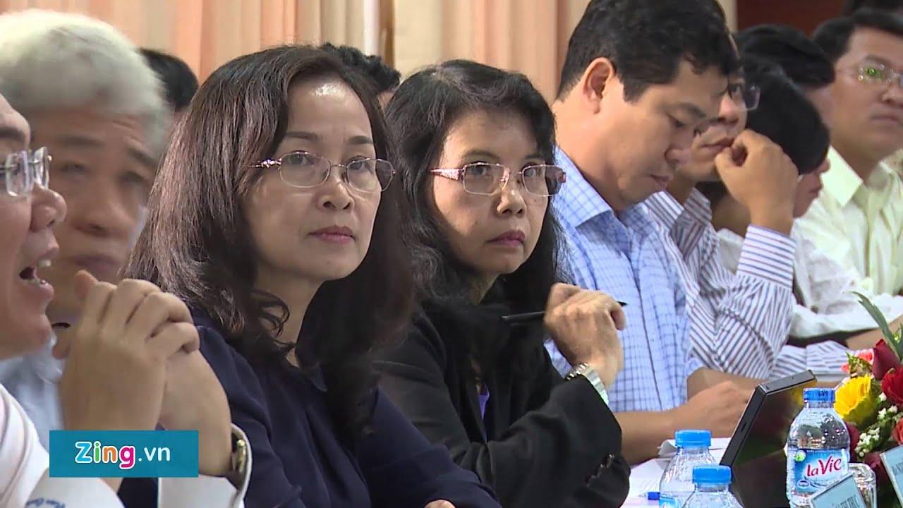 Bí Thư Đinh La Thăng làm việc cùng Đại học Quốc gia TP HCM