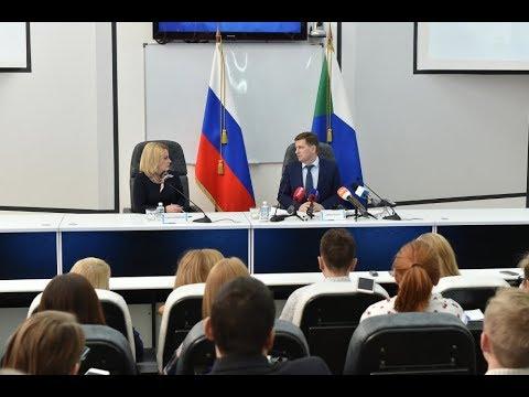 Пресс-конференция губернатора Хабаровского