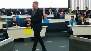 Dean Smith of Aston Villa at #TigerLab BCU talking about Organisational Culture 03.10.2019