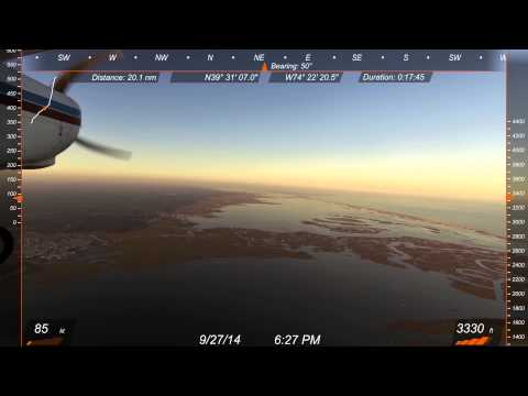 Sunset Flight Ocean City New Jersey