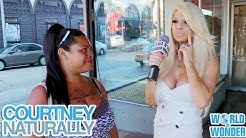 Courtney Stodden Naturally - Truth or Dare on Hollywood Boulevard Part 2