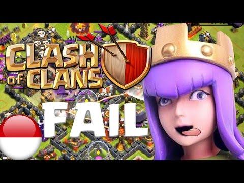 Epic Fail Miawaug - Clash Of Clans - Part 15 Indonesia