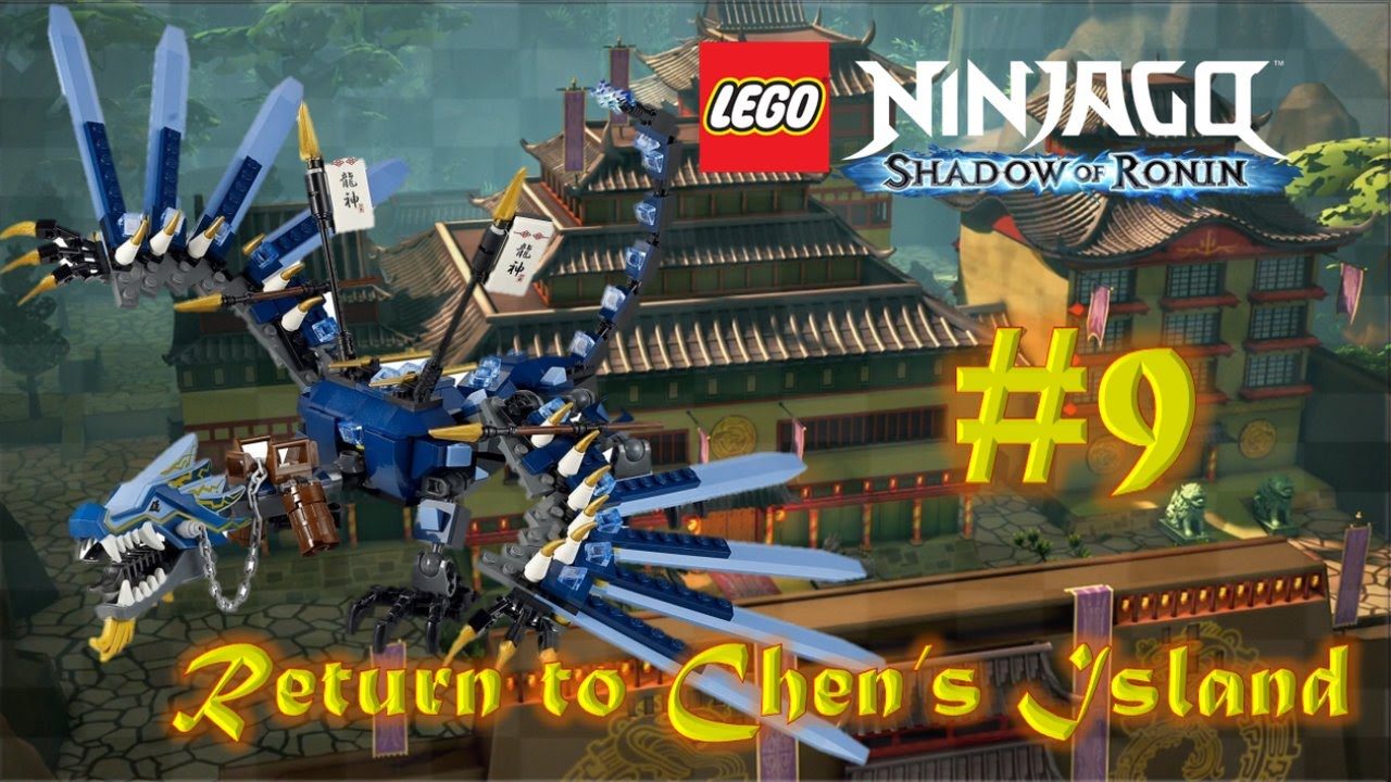 Lego Ninjago Shadow Of Ronin Return To Chen S Island