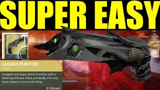 Destiny: HOW TO GET THORN Year 3 Bounty Super Easy (Destiny Tips & Tricks)