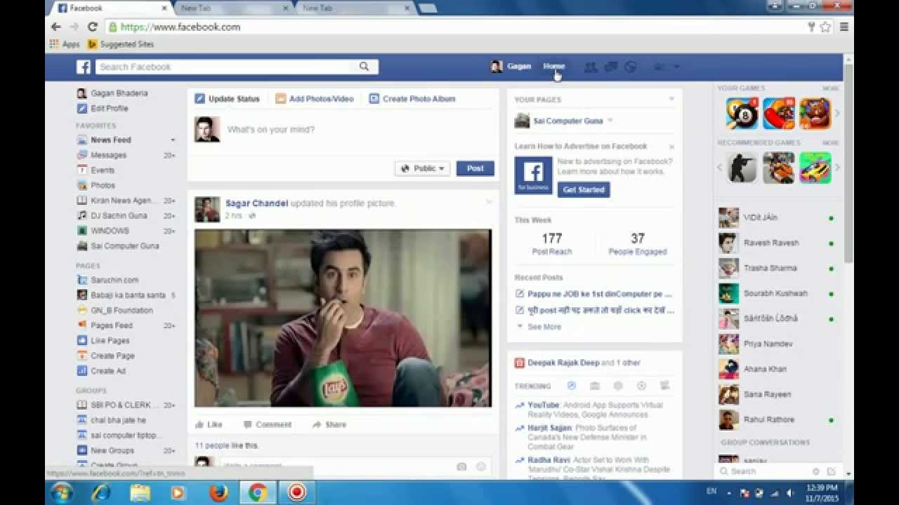 How To Delete And Hide Post From My Facebook (fb)timeline In Hindi Easy  Step  Youtube