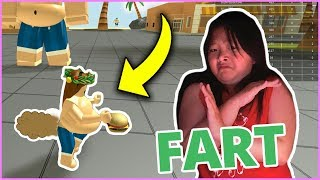 HOW TO FART ON ROBLOX *TUTORIAL* AND GET FAT! | Roblox Eating Simulator