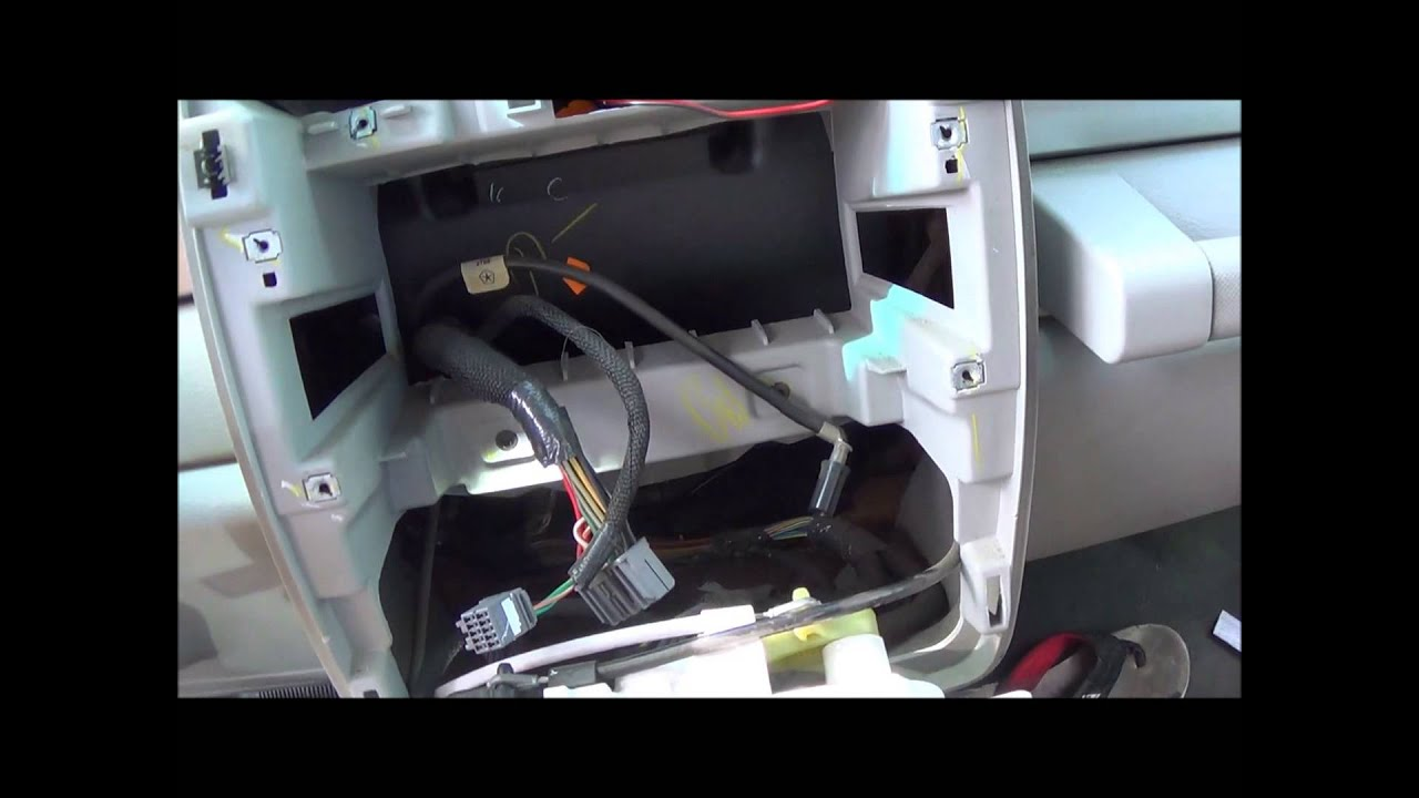 2006-2010 PT Cruiser Radio Removal And Install - YouTube | Pt Cruiser Stereo Wiring Diagram |  | YouTube