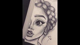 Очень реалистичные и красивые рисунки простым карандашом