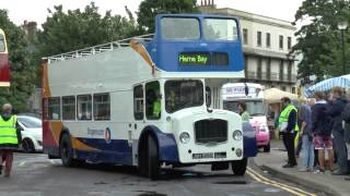 HERNE BAY BUS RALLY AUGUST 2014