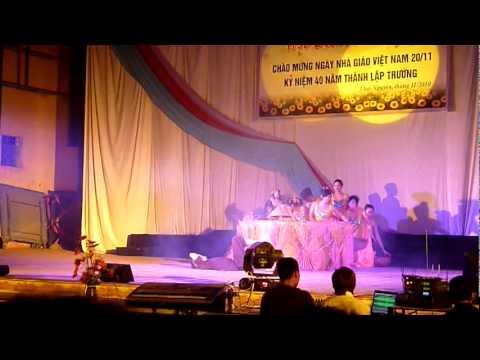 Múa hạt thóc vàng_Khoa SPKT_Đại học Nông Lâm Thái Nguyên.avi