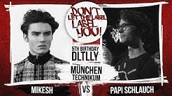 Mikesh vs Papi Schlauch // DLTLLY RapBattle (B.Day#5 // München) // 2018