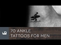 70 Ankle Tattoos For Men