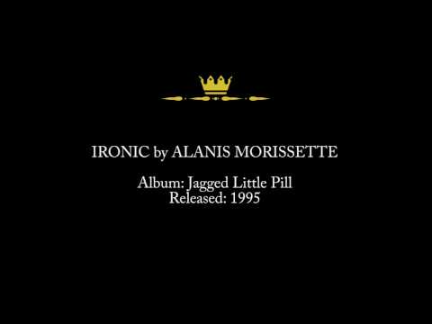 Ironic by Alanis Morissette Lyrics & Song Facts - About The Lyrics