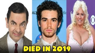 Famous Celebrities Who Died In 2019