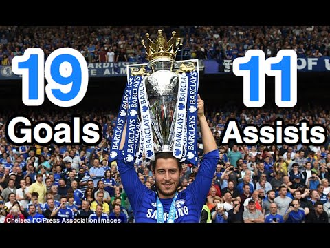 Eden Hazard - All 19 Goals and 11 Assists - 2014/15 - Chelsea FC - HD