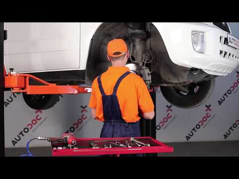 How to replace Front Anti Roll Bar Link on TOYOTA RAV4 TUTORIAL | AUTODOC