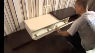 видео Дизайн гостиной в квартире: отделка интерьера комнаты в однокомнатной квартире