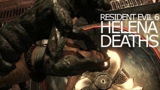 Helena Harper Death Scenes - Be Killed Awesomely Title Resident Evil 6