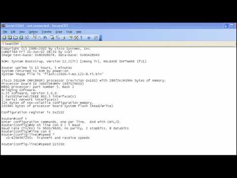 Copying Files With XMODEM Lab - Part 1 - YouTube