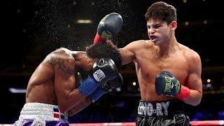 Ryan Garcia 2 KNOCK DOWNS & KNOCKOUT WIN! vs Braulio Rodriguez