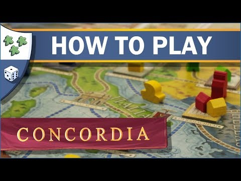 How to play Concordia